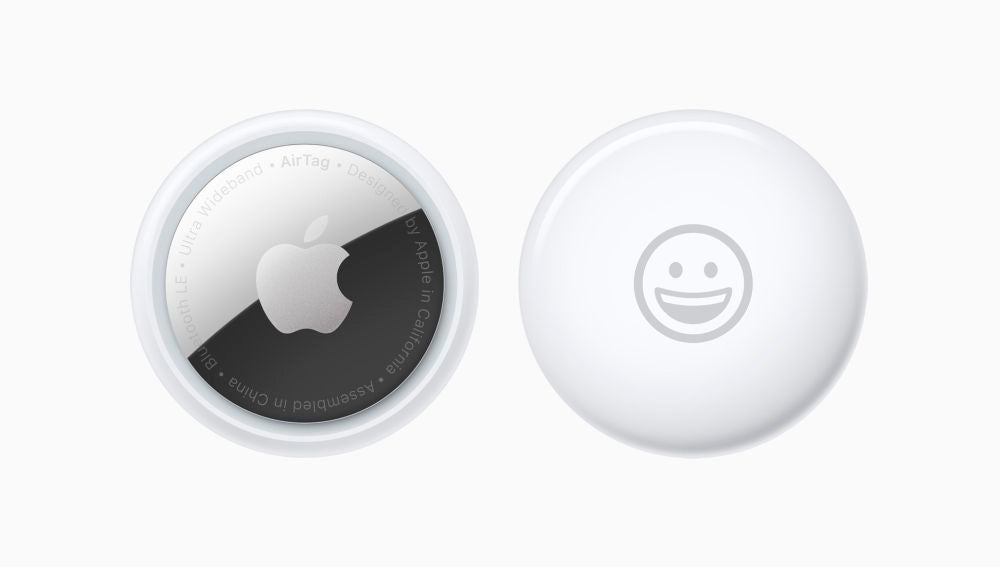 Los esperados AirTags de Apple.