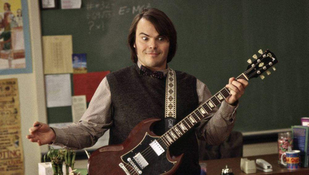 Jack Back en una escena de 'School Of Rock'