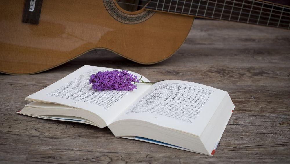 Un libro y una guitarra