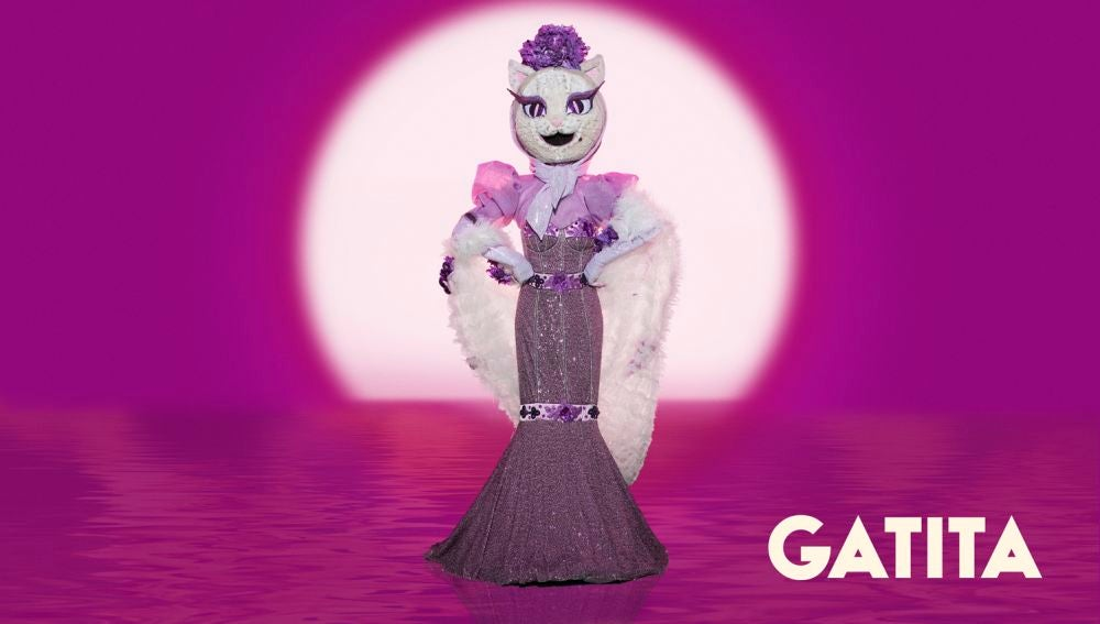 La Gatita, máscara de la segunda temporada de 'Mask Singer'