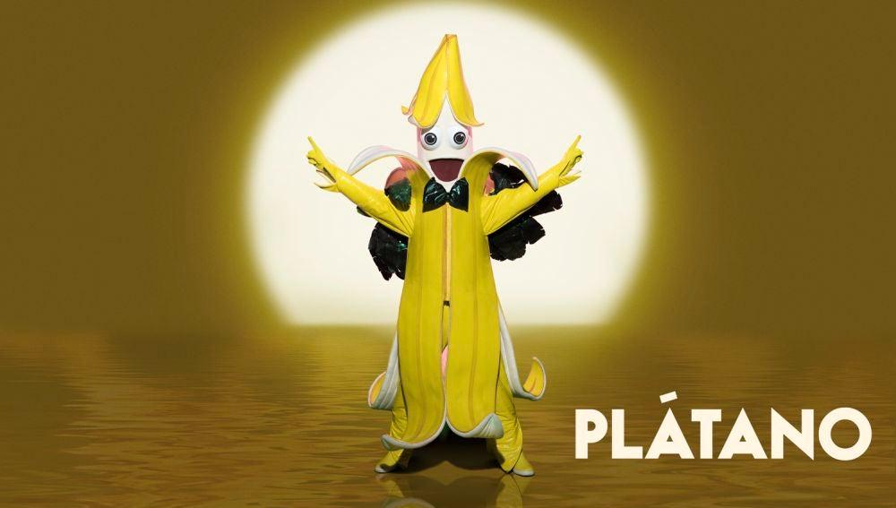El Plátano, nueva máscara de la segunda temporada de 'Mask Singer'