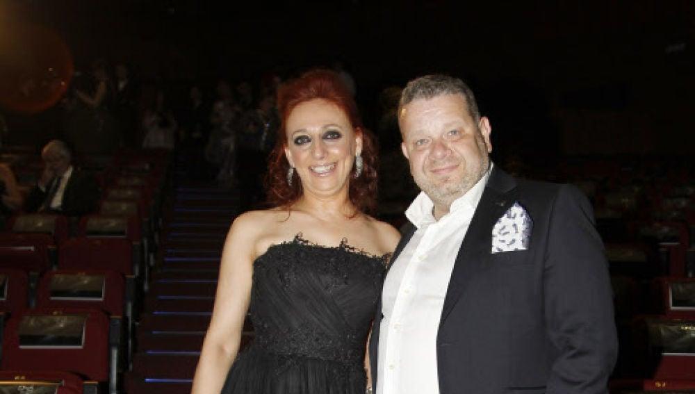 Inma Núñez y Alberto Chicote