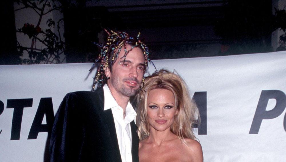 Pamela Anderson y Tommy Lee en una imagen de 1999.