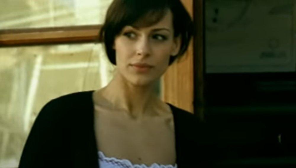Eva González, en el videoclip de Andy y Lucas