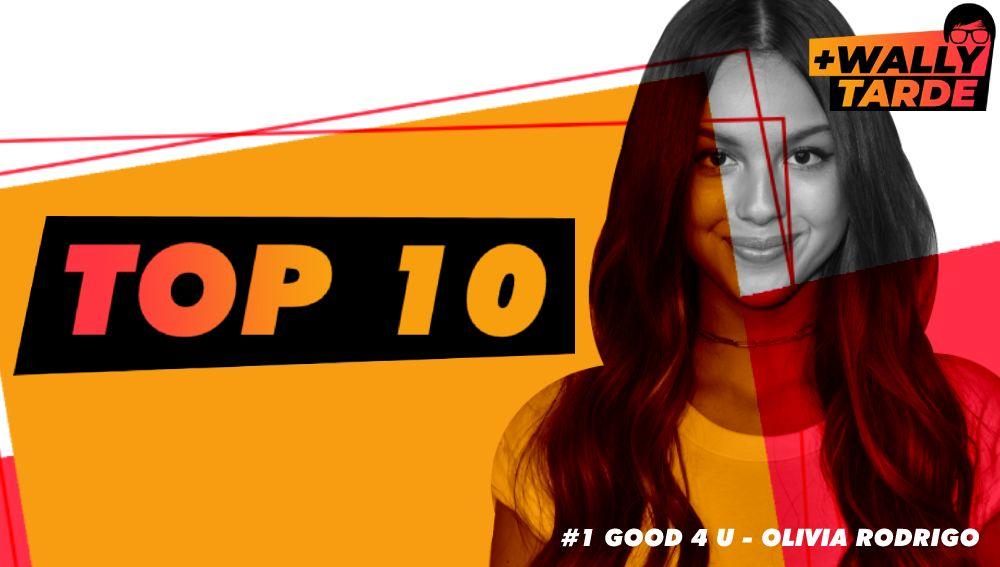 El Top 10 Semanal de Más Wally Tarde - Viernes 11/06/2021