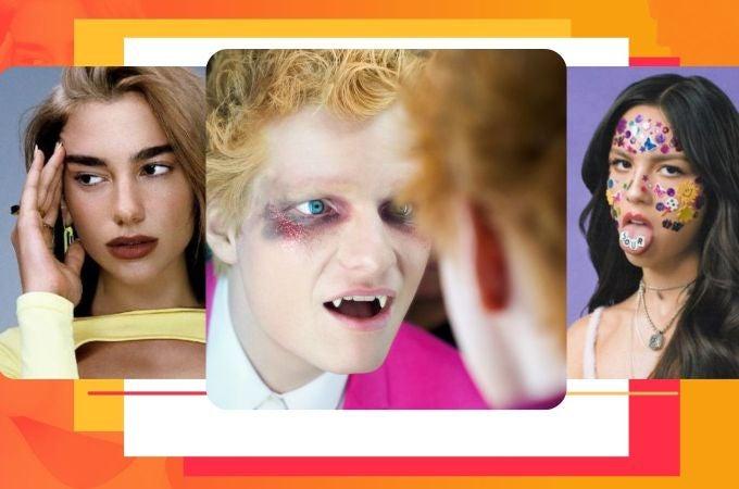Ed Sheeran, Dua Lipa y Olivia Rodrigo