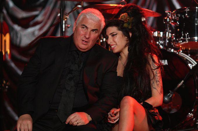 Amy y su padre, Mitch