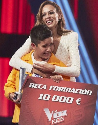 Levi Díaz gana de 'La Voz Kids 2021' en el equipo de Melendi tras una emocionante votación