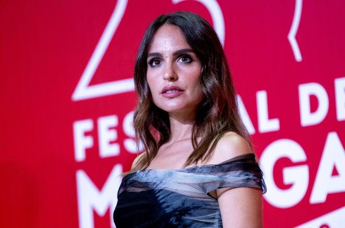 La actriz Verónica Echegui en el Festival de Málaga
