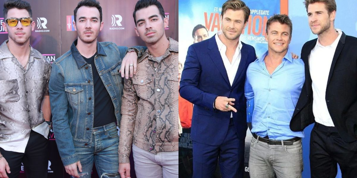 Los Jonas Brothers retan a Thor y sus hermanos