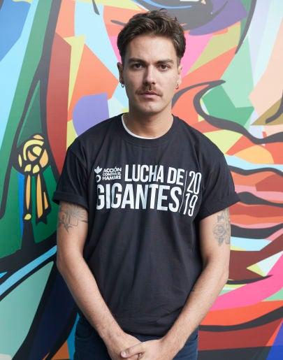 Alberto Jiménez, vocalista de Miss Caffeina
